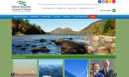 Website Redesign for Natural Resources Council of Maine