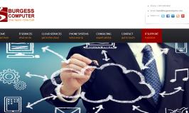 redesign of burgess computer website